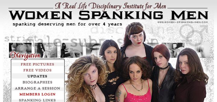 WomenSpankingMen